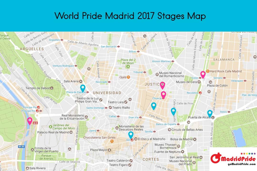 GoMadridPride_World_Pride_Madrid_Stages_Map_2017