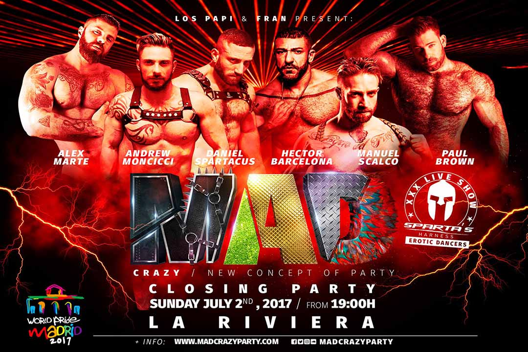 GoMadridPride_Madrid_Clubbing_Gay_MAD_Party_LaRiviera_WorldPride_2017