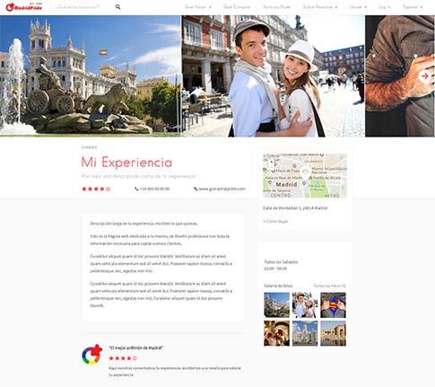 goMadridPride_Organizar_Experiencias_Madrid_Sample_Page